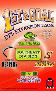 1st and Goal : South-East Division Expansion